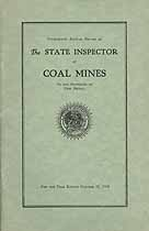 Thumbnail image of New Mexico Inspector of Coal Mines 1930 Report cover