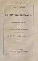 Thumbnail image of Hillsborough County Commissioners 1868 Report cover
