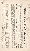 Thumbnail image of Maine State Relief Association 1919 September Assessment cover