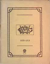 Thumbnail image of Muskegon Woman's Club 1909-1910 Year Book cover