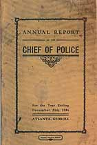 Thumbnail image of Atlanta Police Department 1906 Roster cover
