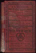 Thumbnail image of Paterson N. J. 1901 City Directory cover
