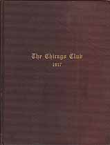 Thumbnail image of The Chicago Club 1917 cover