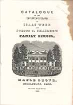 Thumbnail image of Isaac Webb's Boarding School 1841 Catalogue cover