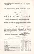 Thumbnail image of Indian Depredation Claims 1899 Judgement List cover
