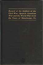 Thumbnail image of Manchester Vermont Soldiers War Record cover