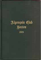 Thumbnail image of The Algonquin Club 1919 Members cover