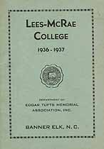 Thumbnail image of Lees-McRae College 1936-1937 Catalogue cover