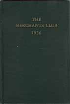 Thumbnail image of Merchants Club of New York 1936 Members cover