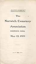 Thumbnail image of Norwich Cemetery Association 1919 cover
