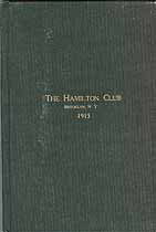 Thumbnail image of The Hamilton Club 1915 Members cover