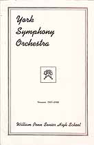 Thumbnail image of York Symphony Orchestra 1937-1938 Season cover