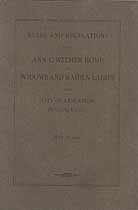 Thumbnail image of Ann C. Witmer Home 1913 Report cover
