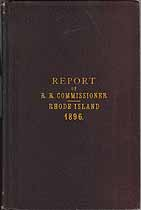 Thumbnail image of Rhode Island 1896 Railroad Accident Reports cover