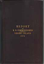 Thumbnail image of Rhode Island 1904 Railroad Accident Reports cover