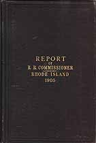 Thumbnail image of Rhode Island 1905 Railroad Accident Reports cover