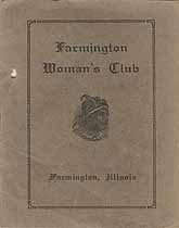 Thumbnail image of Farmington Woman's Club 1917-18 Program cover