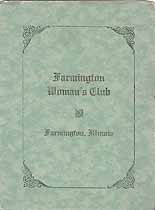 Thumbnail image of Farmington Woman's Club 1923-24 Program cover