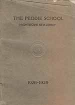 Thumbnail image of The Peddie School, 1928-1929 Yearbook cover