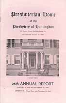 Thumbnail image of Huntingdon Presbyterian Home 1949 Report cover
