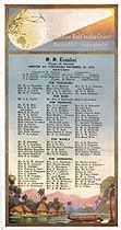 Thumbnail image of SS Ecuador 1919 Souvenir Passenger List (San Francisco to Yokohama) cover