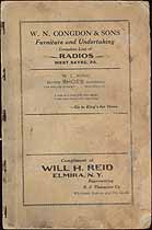 Thumbnail image of Sayre 1925 Friendly Bible Class cover