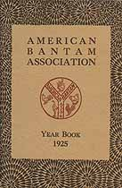 Thumbnail image of American Bantam Association 1925 Year Book cover