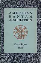 Thumbnail image of American Bantam Association 1926 Year Book cover