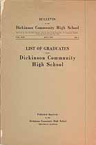 Thumbnail image of Dickinson Community High School Alumni (1892-1926) cover