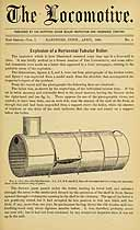 Thumbnail image of The Locomotive 1880 (April) Steam Boiler Insurance Newsletter cover