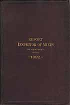 Thumbnail image of Kentucky Inspector of Mines 1892 Report cover