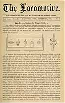 Thumbnail image of The Locomotive 1881 (September) Steam Boiler Insurance Newsletter cover