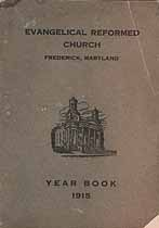 Thumbnail image of Frederick Evangelical Reformed Church 1915 Year Book cover