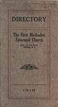Thumbnail image of Corning First Methodist Episcopal Church 1918 Directory cover