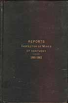 Thumbnail image of Kentucky Inspector of Mines 1901-2 Reports cover