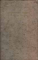 Thumbnail image of Michael Reese Hospital School of Nursing 1923-1924 Report cover