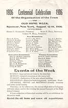 Thumbnail image of Spencer Centennial and Old Home Week 1906 cover