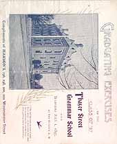 Thumbnail image of Thayer Street Grammar School 1897 Graduation cover