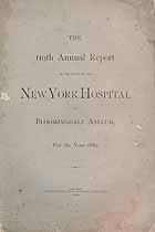Thumbnail image of New York Hospital 1889 Report cover