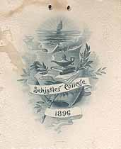 Thumbnail image of Schissler College 1896 Commencement cover
