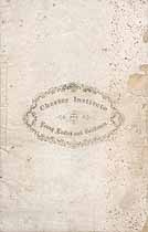 Thumbnail image of Chester Institute 1864-1865 Catalogue cover