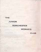 Thumbnail image of Junior Dorchester Woman's Club 1936-1937 Program cover
