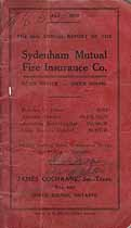 Thumbnail image of Sydenham Mutual Fire Insurance Company 1908 Losses cover