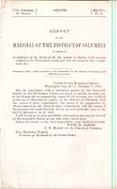 Thumbnail image of District of Columbia 1861 Prisoner List cover