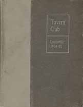Thumbnail image of The Louisville Tavern Club 1904-05 Members cover