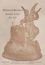 Thumbnail image of Jackson Lodge, No. 192, B.P.O.E. 1907 Memorial cover