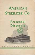 Thumbnail image of American Sterilizer Personnel Directory cover