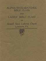 Thumbnail image of Lebanon Seventh Street Lutheran Church Bible Classes cover