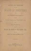 Thumbnail image of South Carolina Penitentiary 1883 Report cover