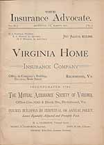 Thumbnail image of The Insurance Advocate, 1878, March cover